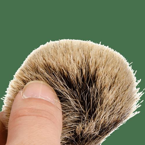 Rasierpinsel premium aus Dachshaar